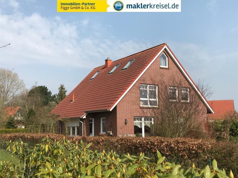 Luftkurort Werdum: Flexible Immobilie mit Doppelgarage und 2 Wohneinheiten in ruhiger Siedlungslage